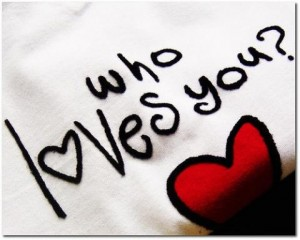 Who loves you t-shirt