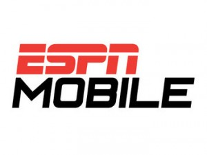 A Photo of the ESPN Mobile Logo
