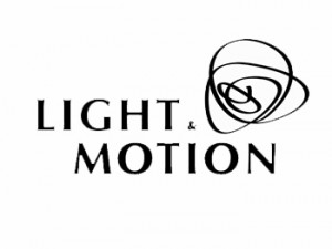 A Photo of the Light and Motion Logo